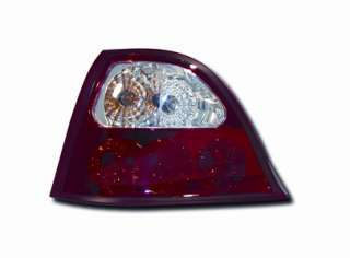 Red/Clear Tail Lights to fit ROVER 200 (1995 to 2000), ROVER 25 (2001