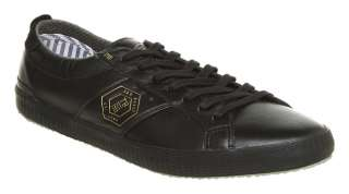 Mens Ted Baker Askook Sneaker Black Leather Casual Shoe
