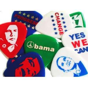 Pickboy Obama Pik Pak, 10 picks: Musical Instruments
