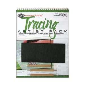 Royal Brush Tracing Paper Pad Kit; 3 Items/Order: Home