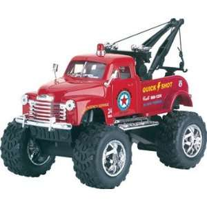 Schylling Die Cast Big Wheel Tow Truck Toys & Games