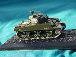 M4A3 SHERMAN HEAVEY ARMOUR TANK MILITARY DIECAST MODEL