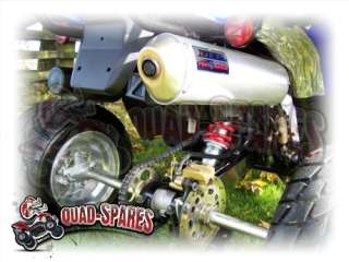 Moto Roma UQ Adly AXR 300 Quad ATV DEP Exhaust System