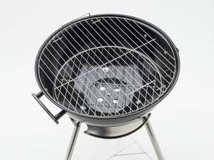 Kettle Charcoal Barbecue BBQ Grill /w Wheels Portable