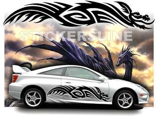 Adesivi DRAGO adesivi auto tuning car stickers DRAGO 6