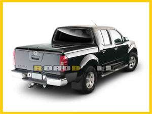 NISSAN NAVARA D40 HARD TOP TONNEAU COVER ABS METALLIC BLACK