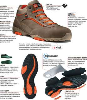 SCARPE ANTINFORTUNISTICHE LOTTO WORKS LAB HIGH S3 K5825