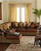 Leather Sectional Sofas, Tufted Leather Sofa, Chaise Sectional Sofas