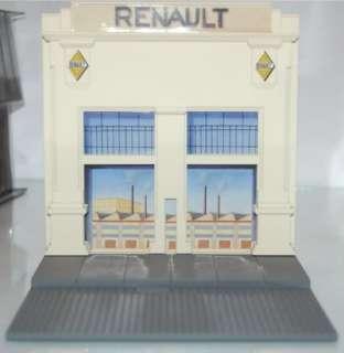 Diorama Renault Fachada Fabrica   Eligor 1/43