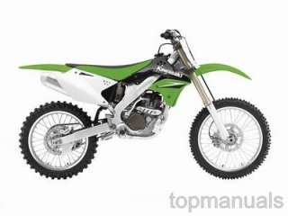 MANUAL TALLER KAWASAKI KX250F WORKSHOP SERVICE KX 250