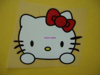 HELLO KITTY Iron On Heat Transfer Patch Motif Applique Decal Children