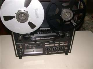 Teac X 2000R Hi Fi Reel to Reel Tape Deck Player X2000R BLACK dbx 10