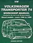 VW Volkswagen Transporter T4 Diesel 2000 Repair Manual