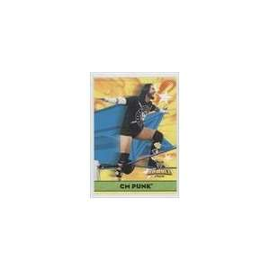 CM Punk (Wrestling Card) 2010 Topps Rumble Pack WWE #7