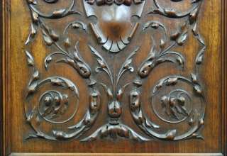 ANTIQUE WALNUT CARVED ARCHITECTURAL HENRY II BUFFET