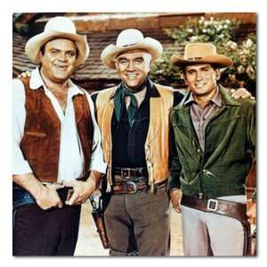 Color Box Canvas Print Gallery Wrapped (Lorne Greene Michael Landon