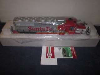 LGB 22560 G SCALE QUEEN MARY SERIES SANTE FE DIESEL LOCOMOTIVE MIB