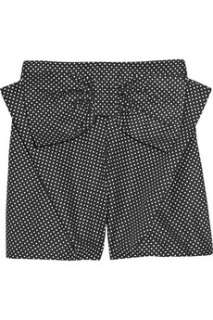 See by Chloé Bow embellished polka dot shorts   88% Off Now at THE