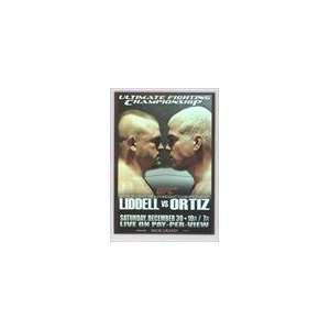 Card) #UFC66   UFC 66/Chuck Liddell/Tito Ortiz Sports Collectibles