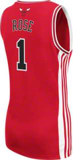 Rose Red adidas Revolution 30 Replica Chicago Bulls Womens Jersey