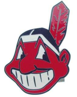 Cleveland Indians Logo Trailer Hitch Cover