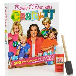 & Sewing Rosie ODonnell Craft Books and Software Kids Crafts Books