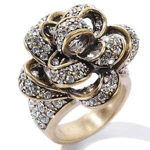Heidi Daus Byzantine Beauty Crystal Band Ring