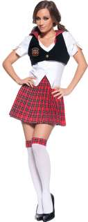 Sexy Reformed School Girl Costume   Sexy Halloween Costumes