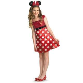 Disney Mickey Mouse Clubhouse Red Minnie Mouse Kids / Tween Costume