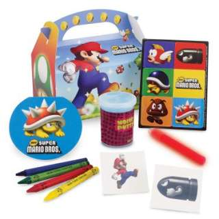16178 Results In Halloween Costumes Super Mario Bros. Party Favor Box