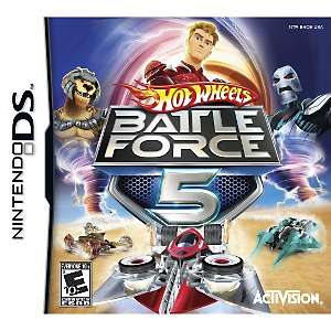 Hot Wheels Battle Force 5 Video Game   Nintendo DS