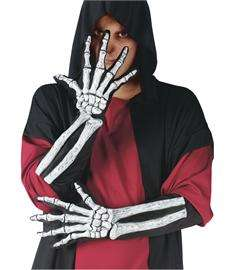 Skeleton Gloves  3D Skeleton Costume Hands