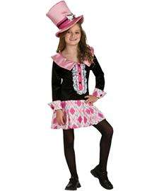 Mad Tea Party Alice Costume  Girls Mad Hatter Halloween Costume