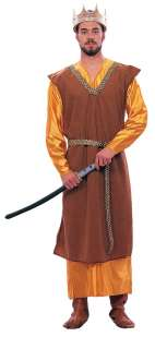 Medieval King Adult Costume  King Halloween Costume
