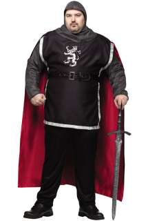 Medieval Knight Plus Size Costume for Halloween   Pure Costumes