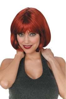 Short Auburn Bob Wig   A seductive and radiant  for any occasion
