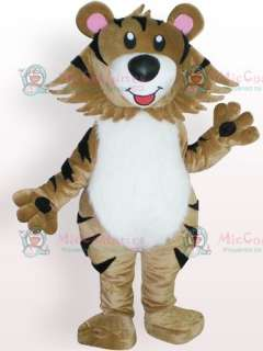 Tiger Plush Adult Mascot Costume for Sale