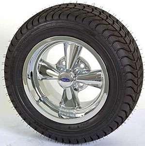 Performance 9 391G Cragar SS Golf Cart Wheel and Tire Assembly