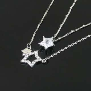 Korean Drama Youre Beautiful rhinestone Star Necklace