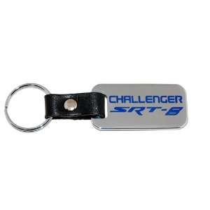 2009 2010 2011 2012 Dodge Challenger SRT 8 Chrome Key Chain Fob Blue