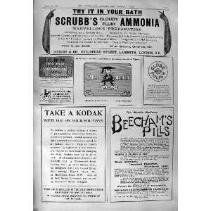 Beechams Pills ScrubbS Ammonia Kodak Photography