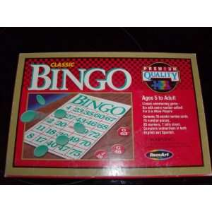 Classic Bingo By Rose Art: Toys & Games