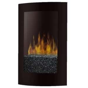 com Dimplex VCX1525 Black Convex 22.75 Wall Mount Electric Fireplace