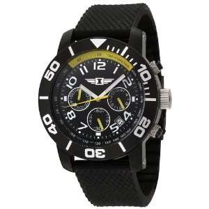 Invicta Mens 41701 001 Chronograph Black Stainless Steel Rubber Watch