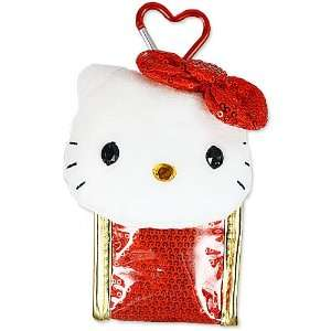 [Hello Kitty] Mobile pouch red ?J???t???X?N?G?A series