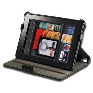 Compact Leather Folio Case for the Kindle Fire. **Includes