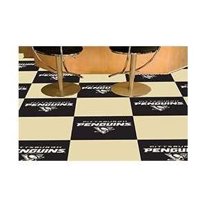 NHL Pittsburgh Penguins Team Carpet Tiles  Sports