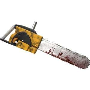 Lets Party By Rubies Costumes Chainsaw 27 / Yellow   Size