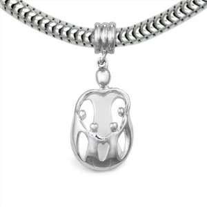 Charm Mother and 4 Children   Fits Pandora European Charm Bracelets