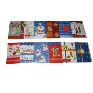 32 Assorted Christmas Greeting Card Set, Festive Themes